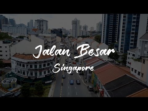 Jalan Besar Singapore - DJI Mavic Pro Drone Aerial