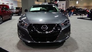 2018 Nissan Maxima SR Gun Metallic (Connecticut Auto Show)