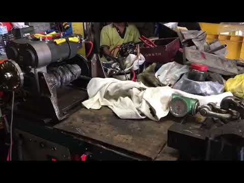 Upgraded 8274 double motor load test
