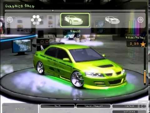 Need for Speed Underground 2 Fast And Furious Cars - YouTube