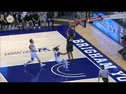Highlights: Colorado basketball falls to BYU