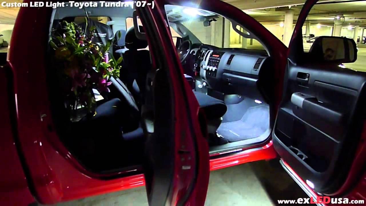 Exled Toyota Tundra Custom Led Interior Kit 5450 Led