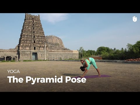 Learn the Pyramid Pose Parsvottanasana | Yoga
