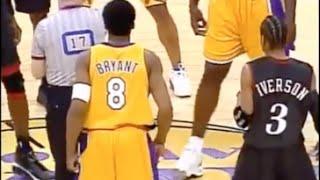 Kobe Bryant Defense on Allen Iverson - 2001 Finals Game 1