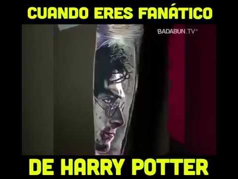 El Mejor Tatuaje De Harry Potter En La Historiabest Tattoo Of