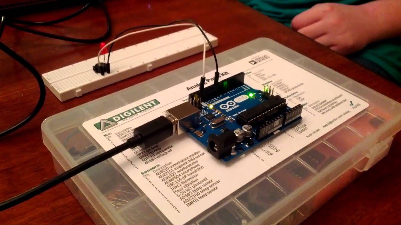 Arduino Lab Experiment 2 Youtube Magneticfieldsensorconnections Electronicslab