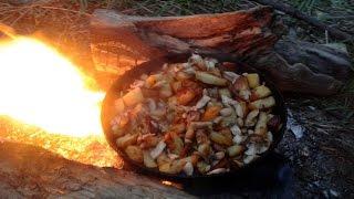 Полевая кухня на рыбалке с ночёвкой.Р.Ока,Дикие маты(, 2017-05-09T17:02:06.000Z)