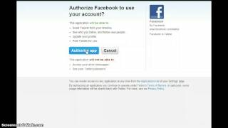 Connect your Facebook Business Page to feed to Twitter