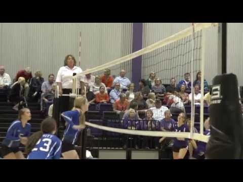 Neon Night Promo.  Midland Classical Academy Volleyball 2014
