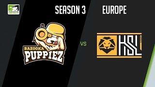 Bazooka Puppiez vs HSL Esports (Part 2)   OWC 2018 Season 3: Europe