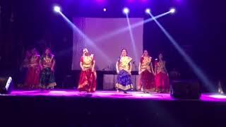 Malayalam dance at Diwali mela jakarta 2017