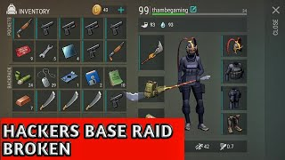 HACKERS BASE RAID SHITTY LOOT🤑🤑😵 Last day on earth survival