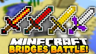 "Minecraft BRIDGES BATTLE ""WORLD DOMINATION!"" #12 w/ PrestonPlayz & Kenny"