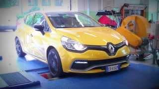 Renault Clio RS 2014 - Test al banco