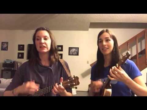Aux Champs Lyses Ukulele Duet Youtube
