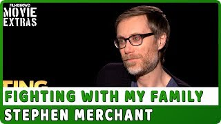 FIGHTING WITH MY FAMILY | Stephen Merchant talks about the movie - Official Interview