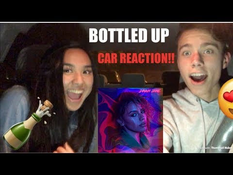 Reacting to BOTTLED UP by Dinah Jane CAR REACTION