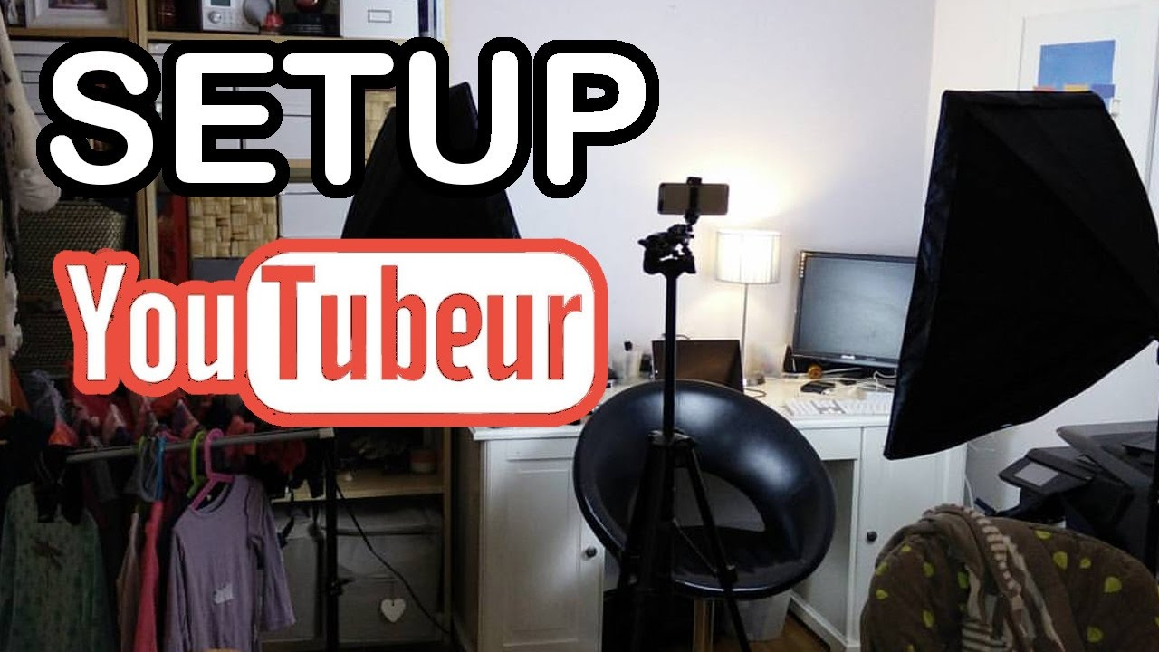 setup pas cher pour youtubeur d butant mat riel youtube. Black Bedroom Furniture Sets. Home Design Ideas