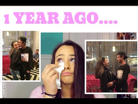 1 YEAR AGO I MET CAMERON DALLAS FOR THE FIRST TIME