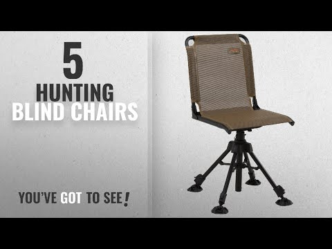 Top 10 Hunting Blind Chairs [2018]: ALPS OutdoorZ Stealth Hunter Blind Chair