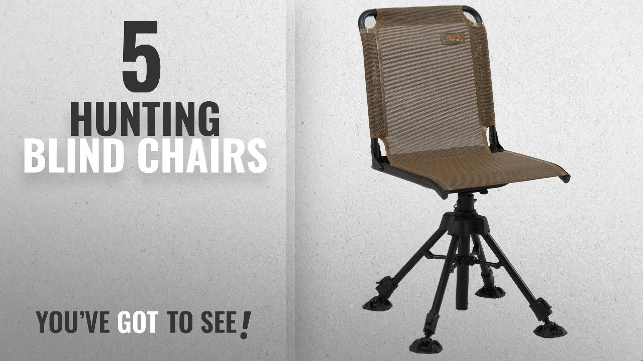 #AlpsOutdoorz #GuideGear #AmeristepTent & Top 10 Hunting Blind Chairs [2018]: ALPS OutdoorZ Stealth Hunter ...