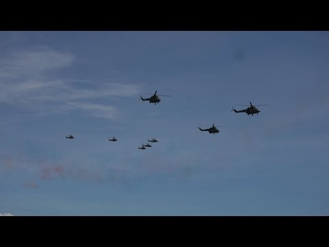 AFP 80th Anniversary - Flyby of Newly Acquired Aircraft
