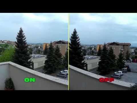 Action Cam Sj4000 - TEST 04 HDR On/off
