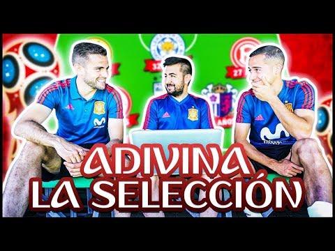 ADIVINA LA SELECCION CHALLENGE ft. Lucas Vazquez x Nacho Fernandez.