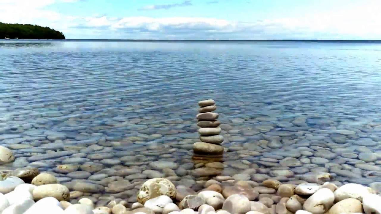 Schoolhouse Beach Washington Island Door County Timelapse