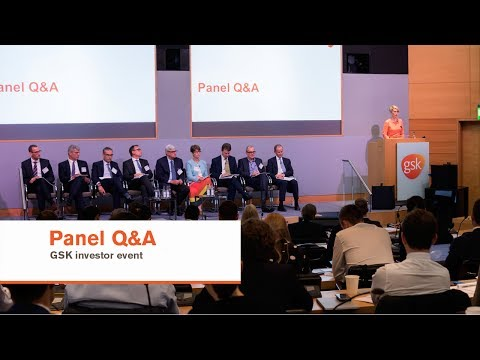 Panel Q&A GSK investor event