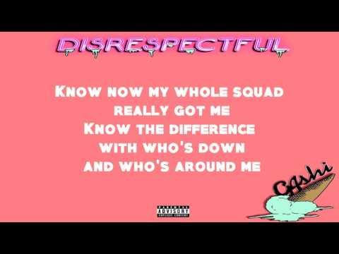G4SHI - Disrespectful (OFFICIAL LYRIC VIDEO)