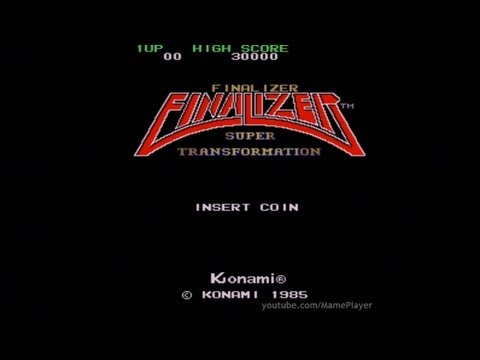 Finalizer - Super Transformation 1985 Konami Mame Retro Arcade Games