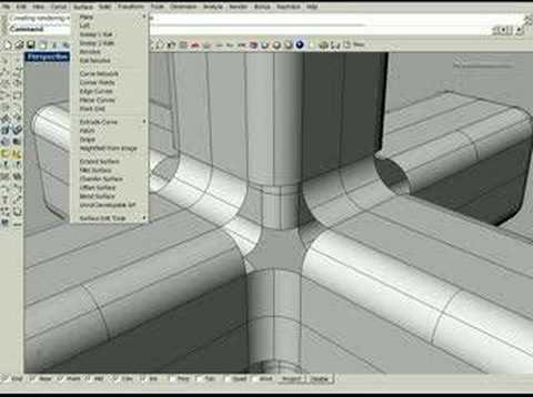 tutorial das ferramentas fillet edge patch do rhino 3d