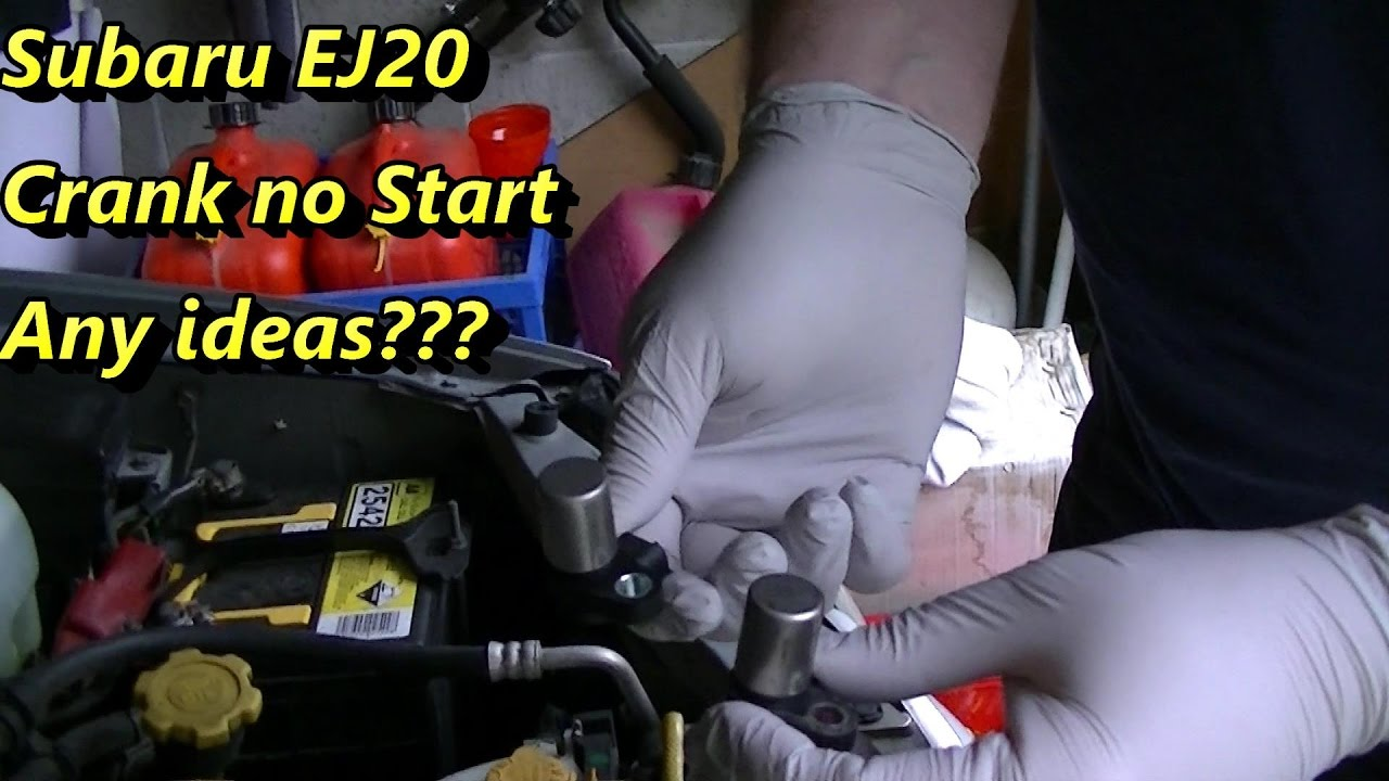 medium resolution of subaru impreza crank no start part 1