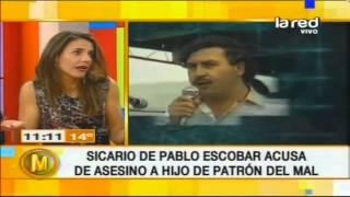 Repeat youtube video ¿Hijo de Pablo Escobar fue narco?