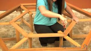 Assembly Video Coral Coast Fillmore Wooden Tree Bench