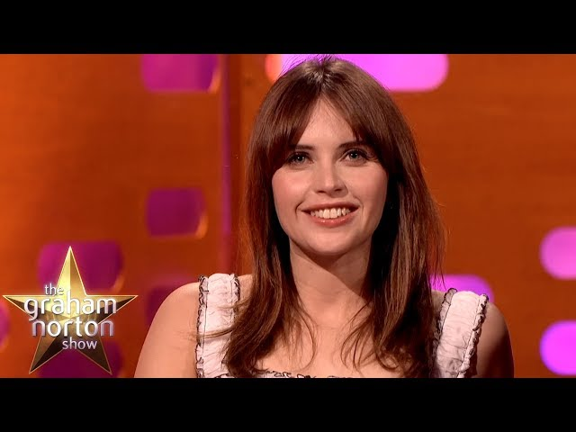 Stephen Hawking Asked Felicity Jones For A Kiss! | The Graham Norton Show