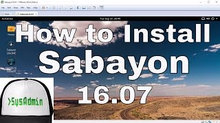 How to Install Sabayon Linux 16.07 + Review + VMware Tools on VMware Workstation Easy Tutorial [HD]