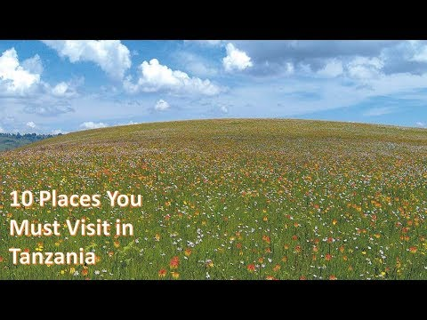 10 Places You Must Visit in Tanzania