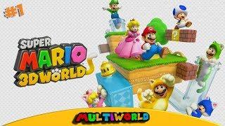 Wii U Super Mario 3D World Мир 1 World 1 Прохожден...