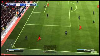 FIFA 14 - Liverpool FC vs Manchester United FC Gameplay [HD]
