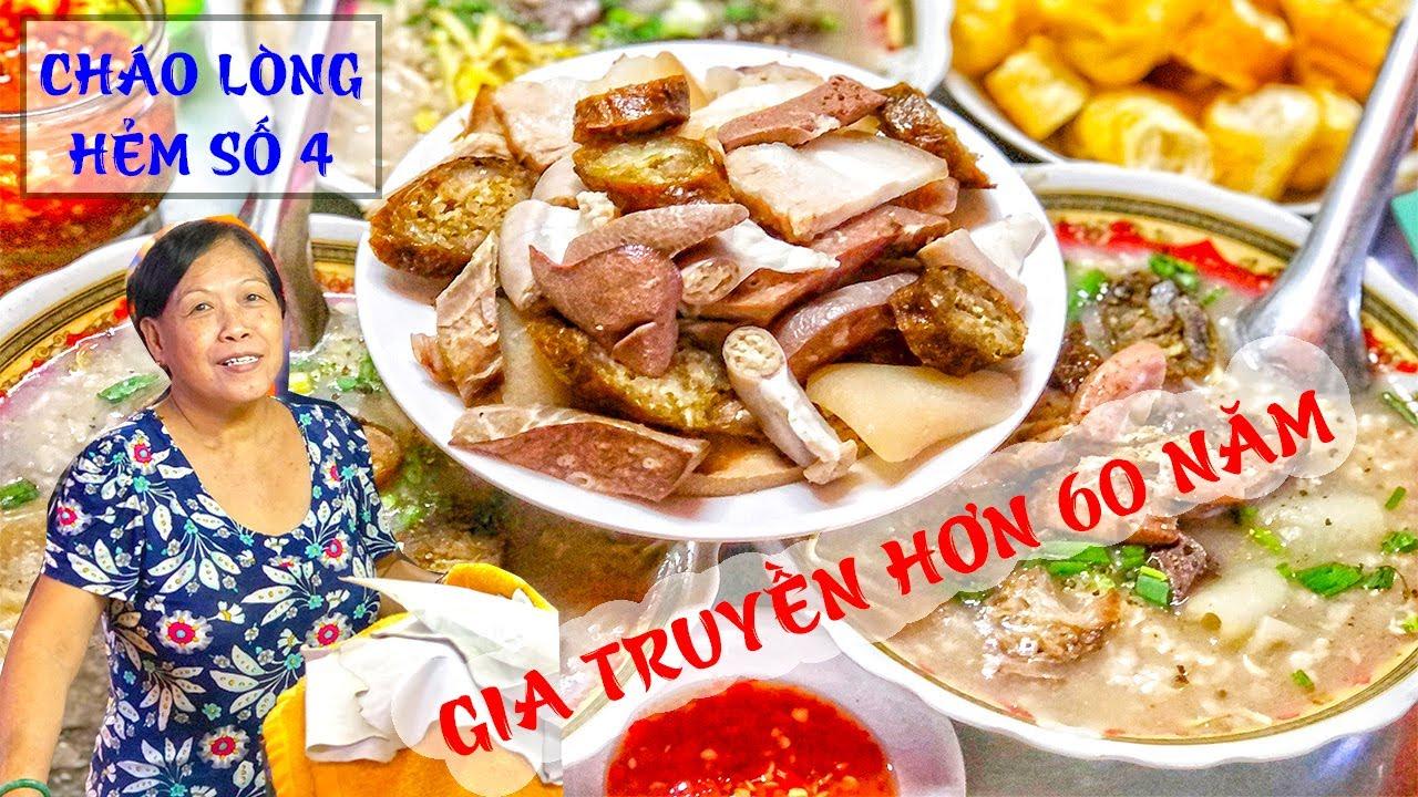 Xe CHÁO LÒNG trong hẻm nhỏ TỒN TẠI HƠN 60 NĂM ở Sài Gòn | Địa điểm ăn uống