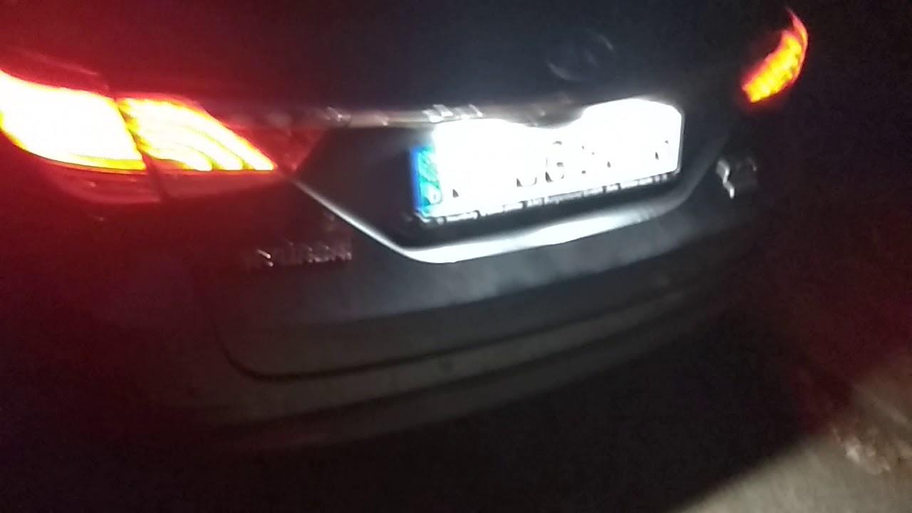 Oświetlenie Tablicy Rejestracyjnej Wymiana Na Led W Hyundai I 401