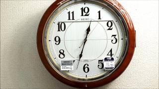 セイコー 掛け時計 ウエーブシンフォニー 電波時計 からくり RE559H  SEIKO Melodies In Motion Wall Clock thumbnail
