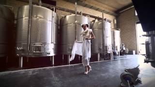 ELLE Arabia magazine fashion Video-shoot at IXSIR Winery.
