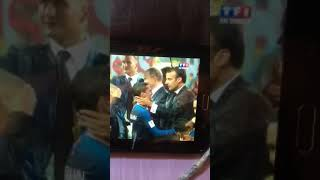France president celebrate 2018 World Cup champions