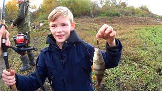 Рыбалка на ЩУКУ и ОКУНЯ Осенняя рыбалка на спиннинг Ловля на вертушку