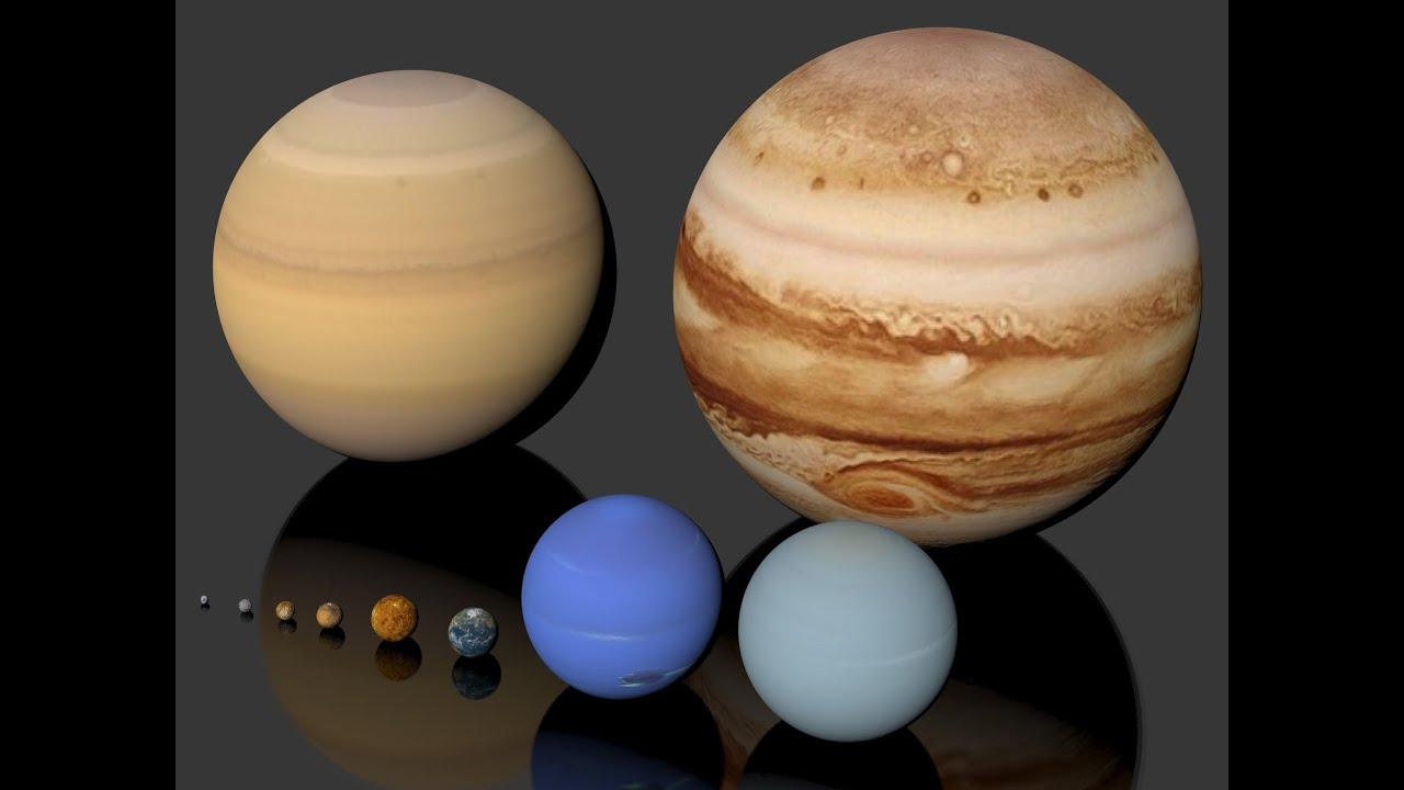 Características De Los Planetas Del Sistema Solar Youtube