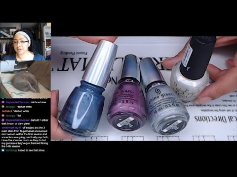 Spirograph Water Marble | Nail Polish Testing & Extended Nail Art Tutorial [Streamed 3/23/19] thumbnail