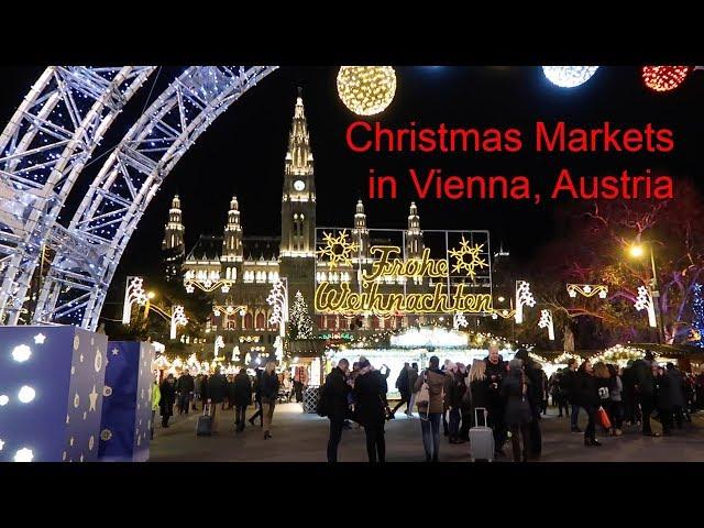 Walking Through Two Vienna Christmas Markets